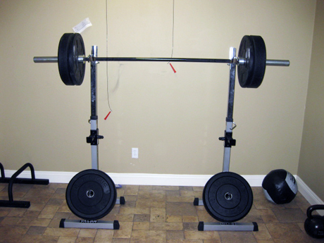 My new squat rack stands from valor athletics a new for Make a squat rack at home